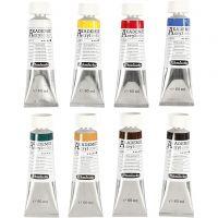 Schmincke AKADEMIE® Acryl color, 8x60 ml/ 1 Pq.