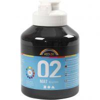A-Color Mate, mate, noir, 500 ml/ 1 flacon