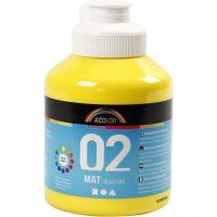 A-Color Mate, mate, jaune primaire, 500 ml/ 1 flacon