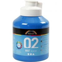 A-Color Mate, mate, bleu primaire, 500 ml/ 1 flacon