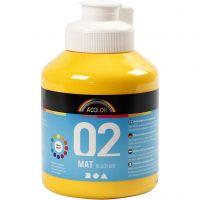 A-Color Mate, mate, jaune, 500 ml/ 1 flacon