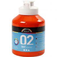 A-Color Mate, mate, orange, 500 ml/ 1 flacon