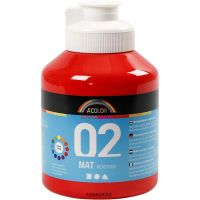A-Color Mate, mate, rouge, 500 ml/ 1 flacon