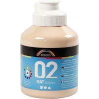 A-Color Mate, mate, beige clair, 500 ml/ 1 flacon