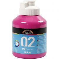 A-Color Mate, mate, rose, 500 ml/ 1 flacon