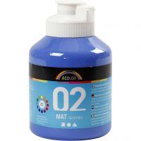 A-Color Mate, mate, bleu, 500 ml/ 1 flacon