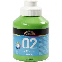 A-Color Mate, mate, vert clair, 500 ml/ 1 flacon