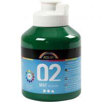 A-Color Mate, mate, vert foncé, 500 ml/ 1 flacon