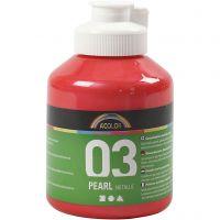 A-Color Métallique, Métallisé, rouge, 500 ml/ 1 flacon