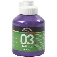 Peinture métallique A-Color, Métallisé, violet, 500 ml/ 1 flacon