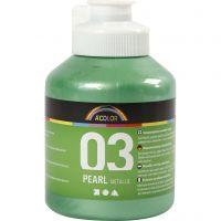 Peinture métallique A-Color, Métallisé, vert clair, 500 ml/ 1 flacon