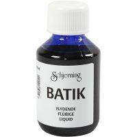 Peinture Batik pour textile, bleu brillant, 100 ml/ 1 flacon