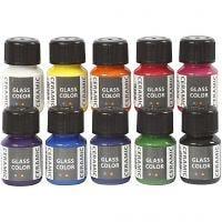 Peinture céramique - Assortiment, couleurs assorties, 10x35 ml/ 1 Pq.