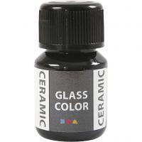 Peinture céramique Glass Color, noir, 35 ml/ 1 flacon