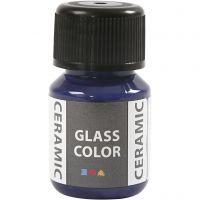 Peinture céramique Glass Color, bleu lavande, 35 ml/ 1 flacon