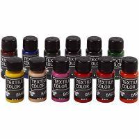 Peinture Textile Color, 12x50 ml/ 1 Pq.