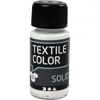Textile Solid, opaque, blanc, 50 ml/ 1 flacon