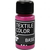 Peinture Textile Color, rose, 50 ml/ 1 flacon