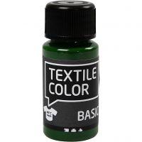 Peinture Textile Color, vert olive, 50 ml/ 1 flacon