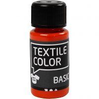 Peinture Textile Color, orange, 50 ml/ 1 flacon