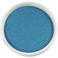 Gouache - Assortiment, d: 30 mm, turquoise, 12 pièce/ 1 Pq.