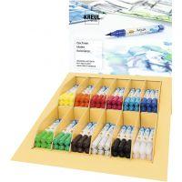 Paquet de feutres aquarellables SOLO GOYA, couleurs assorties, 12x6 pièce/ 1 Pq.