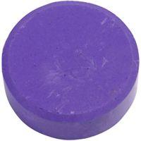Gouache - Assortiment, H: 16 mm, d: 44 mm, violet, 6 pièce/ 1 Pq.