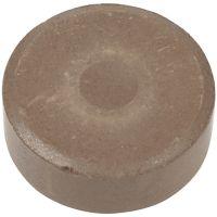 Gouache - Assortiment, H: 16 mm, d: 44 mm, brun, 6 pièce/ 1 Pq.
