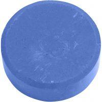 Gouache - Assortiment, H: 19 mm, d: 57 mm, bleu, 6 pièce/ 1 Pq.