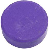 Gouache - Assortiment, H: 19 mm, d: 57 mm, violet, 6 pièce/ 1 Pq.