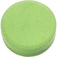 Gouache - Assortiment, H: 19 mm, d: 57 mm, vert, 6 pièce/ 1 Pq.