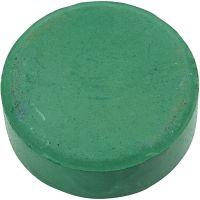 Gouache - Assortiment, H: 19 mm, d: 57 mm, vert foncé, 6 pièce/ 1 Pq.