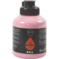 Peinture Pigment Art School, opaque, dusty rose, 500 ml/ 1 flacon