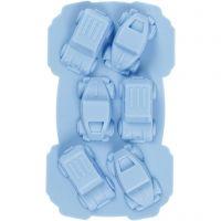 Moule en silicone, voiture, diamètre intérieur 30x45 mm, 12,5 ml, 1 pièce