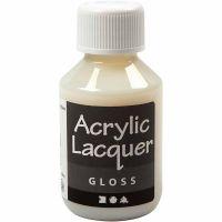 Vernis acrylique, brillante, 100 ml/ 1 flacon