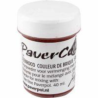 Paver Color, terre brulée, 40 ml/ 1 flacon