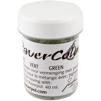 Paver Color, vert, 40 ml/ 1 flacon
