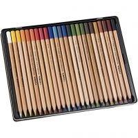 crayons aquarellables Lyra Rembrandt, couleurs assorties, 24 pièce/ 1 Pq.