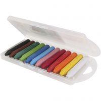 crayons de cire PRIMO, couleurs assorties, 5x12 pièce/ 1 Pq.