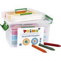 crayons de cire PRIMO, couleurs assorties, 12x12 pièce/ 1 Pq.