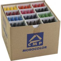 crayons de cire PRIMO, couleurs assorties, 24x12 pièce/ 1 Pq.
