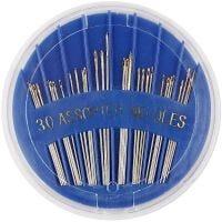 Aiguilles à coudre, dim. 3-7, L: 35-45 mm, 30 pièce/ 1 Pq.