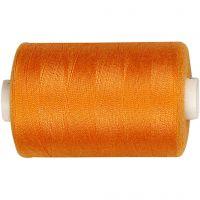 Fil à coudre, orange, 1000 m/ 1 rouleau