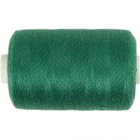 Fil à coudre, vert, 1000 m/ 1 rouleau