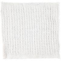 Tissu, dim. 25x25 cm, naturel, 12 pièce/ 1 Pq.