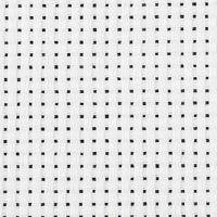 Toile point de croix Aida, L: 150 cm, 35 pts/10 cm, blanc, 3 m/ 1 pièce