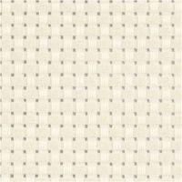 Toile point de croix Aida, L: 150 cm, 35 pts/10 cm, blanc cassé, 3 m/ 1 pièce