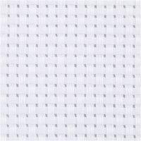 Toile points de croix Aida, L: 150 cm, 35 pts/10 cm, blanc, 3 m/ 1 pièce