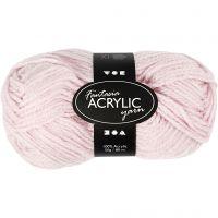 Pelote de laine acrylique Fantasia, L: 80 m, rouge clair, 50 gr/ 1 boule