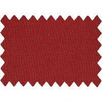 Tissu de coton, L: 145 cm, 140 gr, rouge cerise, 1 par m